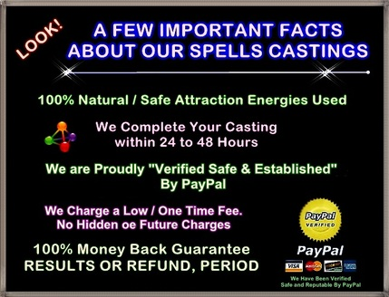 Safe Spells Cast for Love